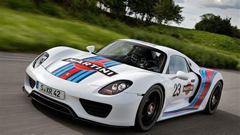 porsche racing colors porsche 918 spyder in martini racing colors