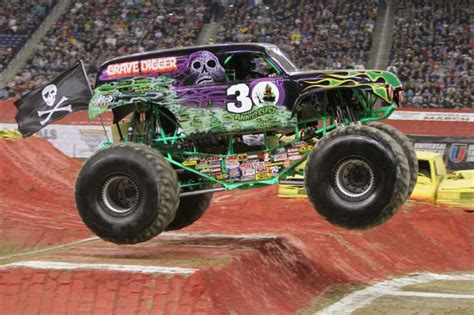 who drives grave digger monster truck monster jam rumbles into webster bank arena connecticut post