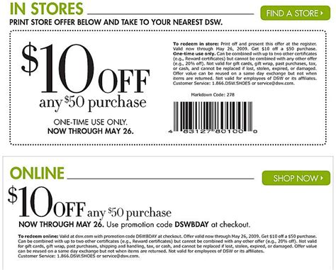 printable coupons uk only dsw coupon code 10 off coupons pinterest