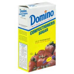 3 16 oz boxes of domino confectioners pure cane 10 x