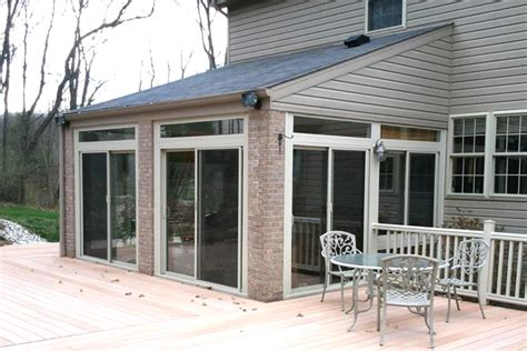 Four Season Porch Cost Sunroom Decor Ideas 4 Seasons Sunrooms Classic Enclosed