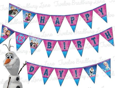 printable frozen banner 111 best images about olivia s frozen pool party on