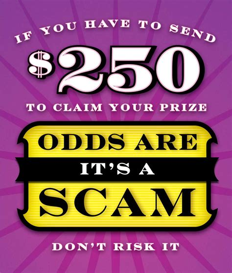 Sweepstakes Lottery Scams - the lottery scam or the inheritance scam sometimes 100 000 people respond