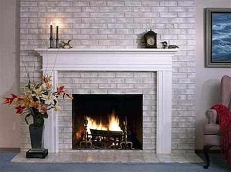 Tips For Painting Brick Fireplace by Painting A Brick Fireplace Ideas Pictures 02 Small Room