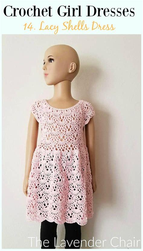 summer girl dress  crochet patterns