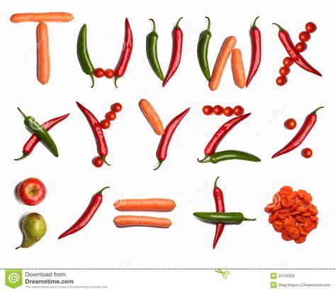 vegetables 10 letters vegetable alphabet stock photos image 25120333