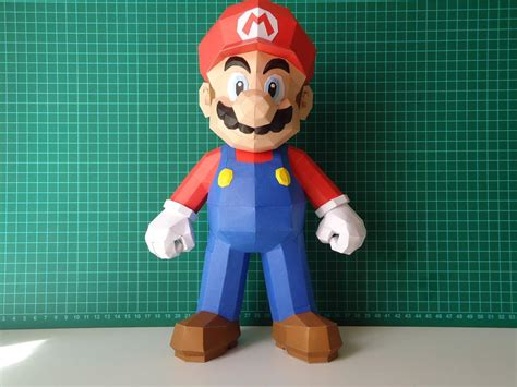 How To Make Paper Mario - make your own mario paper craft gadgetsin