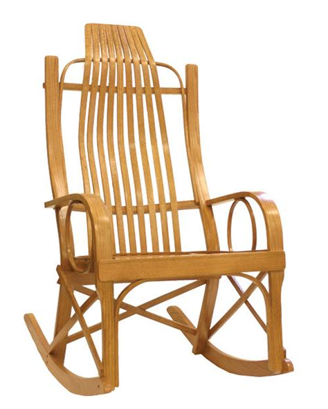 Solid Oak Rocking Chair kitchen chairs bentwood kitchen chairs