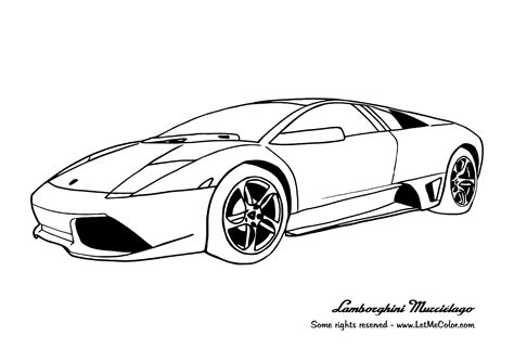 printable coloring pages lamborghini 13 lamborghini coloring pages print color craft