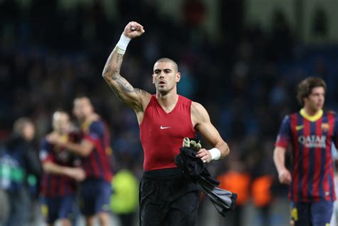 barcelona goalkeeper history manchester city 0 2 barcelona highway to the next round