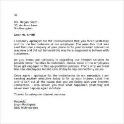 Sample Business Apology Letter Customer For Delay apology letter to client for delay in service jpeg