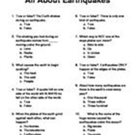earthquake quiz questions and answers 1000 images about plurals on pinterest plural nouns