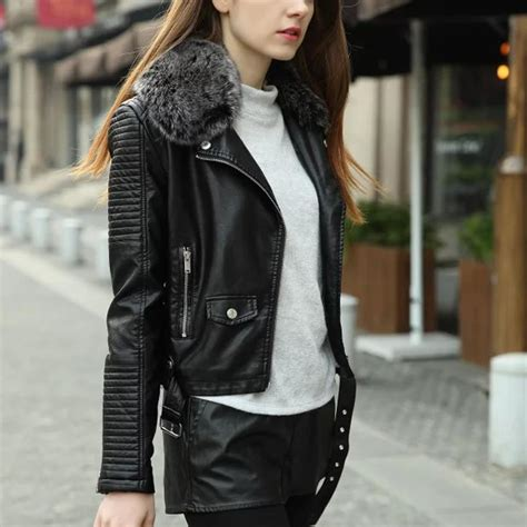Parka Pink Mc T1310 aliexpress buy winter thick leather jacket