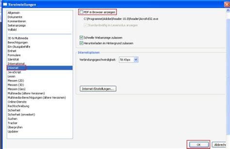 Word Vorlage Inhaltsverzeichnis ändern Adobe Reader X Pdfs Nicht Mehr Im Browser Sondern Im Reader Anzeigen Tipps Tricks Kniffe