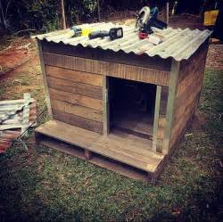 Build A Wood Platform Bed Frame by How To Make A Dog House Using Pallets In Easy Way Recycled Pallet Ideas