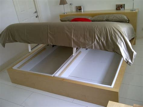 ikea malm bed hack ikea hackers malm marries alsarp home decor pinterest