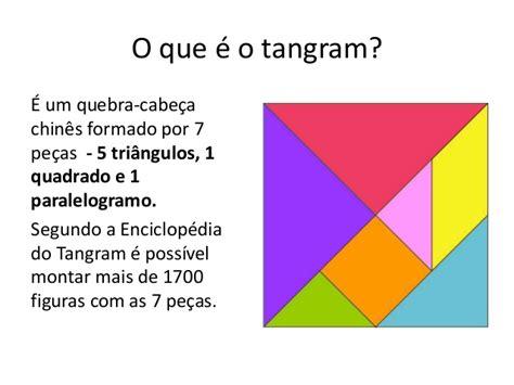 figuras geometricas o que é aula sobre tangram
