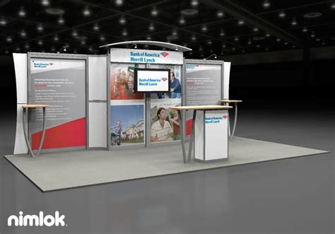 booth design bank 1000 images about larger trade show exhibits on pinterest