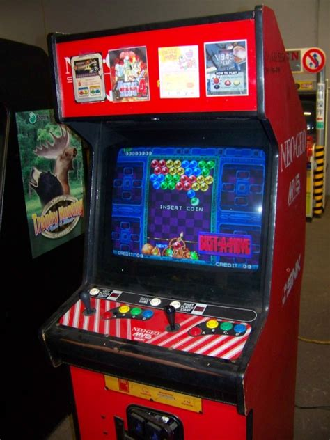 Neogeo Cabinet by Neo Geo 2 Slot Arcade Snk Cabinet Item Is In Used