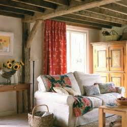 country livingroom cream walls and exposed beams housetohome co uk