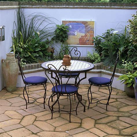 Spanish Inspired Home Decor moroccan style garden terrace garden furniture ideal home