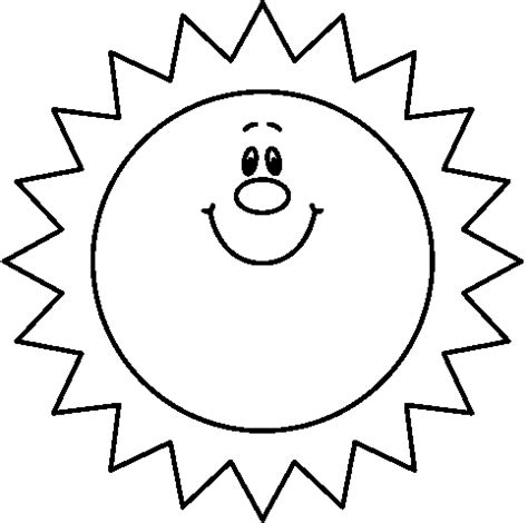 Free Sun Outline by Free Clip Sun Outline Clipart Best
