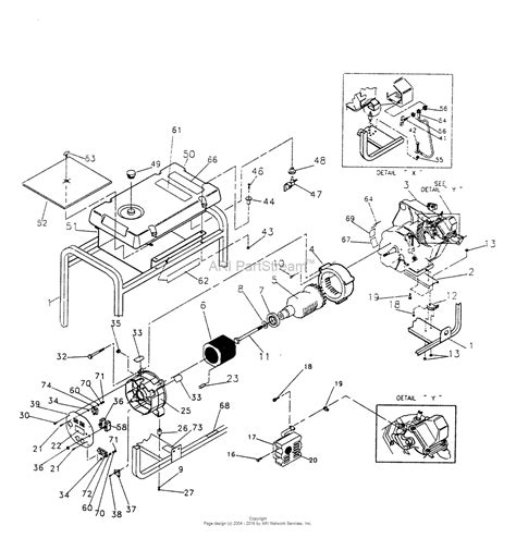 briggs  stratton power products     watt craftsman parts diagram