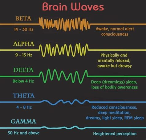 Light Sleeper Meaning by The 5 Different Brainwave Frequencies And What They