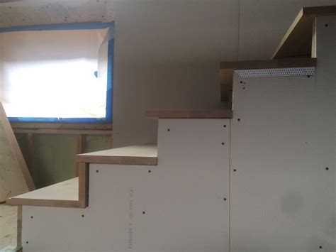 How To Finish Drywall How To Finish Drywall Stair Treads And Risers