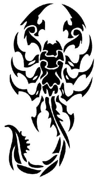 scorpio tribal tattoo tribal scorpion scorpio scorpion