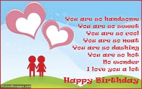 Birthday Card Messages Boyfriend Birthday Poems For Boyfriend Wishesmessages Com