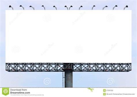 blank billboard stock photography image 27291552