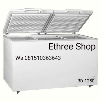 Freezer Crown jual crown horeca chest freezer bd 1250 lemari es