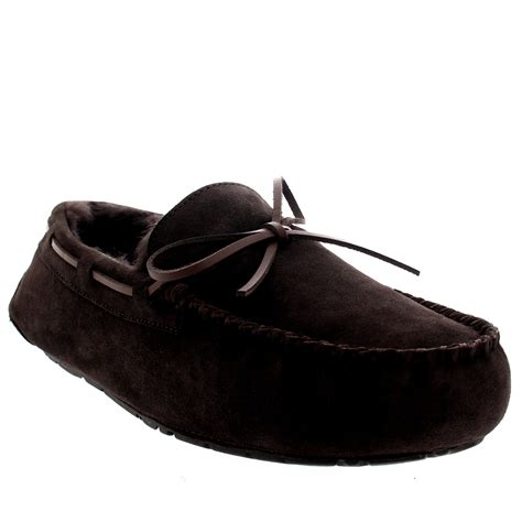 bottom loafers just to compliment the mink mens moccasin real sheepskin australian genuine fur lined