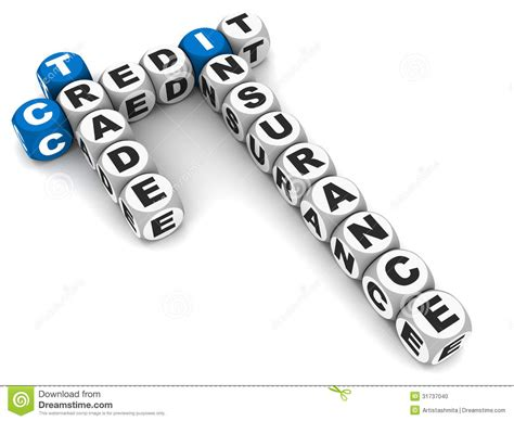 Credit Formation Individualisé Trade Credit Insurance Stock Photo Image 31737040