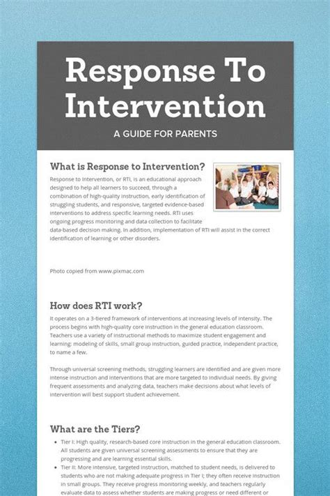 25 best ideas about response to intervention on pinterest