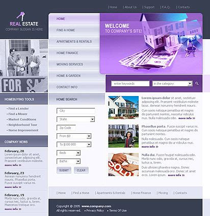 Realtor Websites Templates Download Free Arashirn Realtor Website Templates With Idx