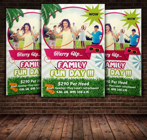 family day flyer template 23 day care flyer templates free premium