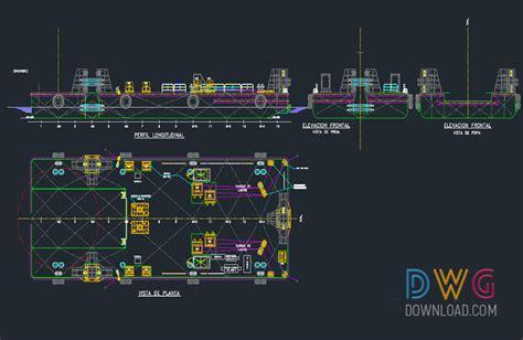 ship dwg settlement of fishing boat dwg drawings 187 dwgdownload