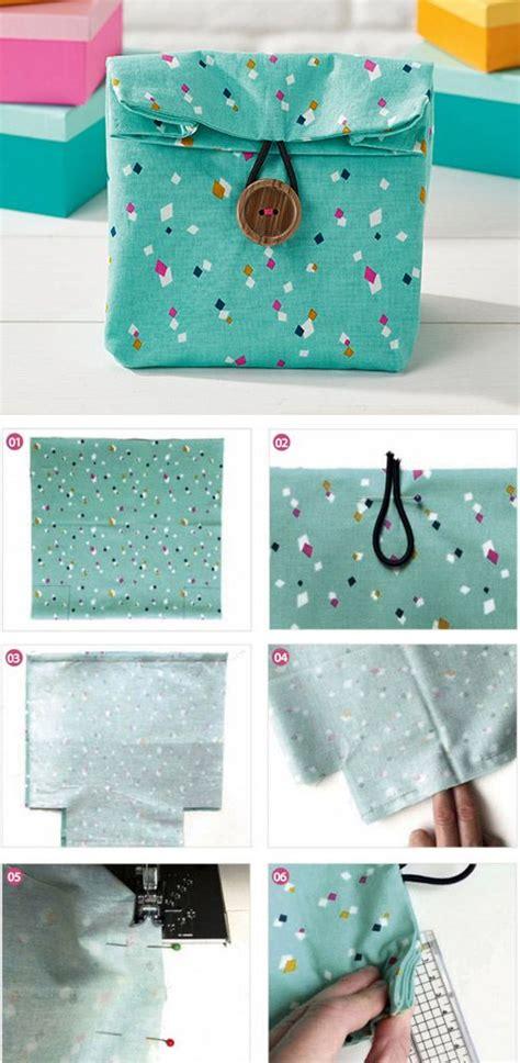 Diy Handmade Bags - fabric gift bags diy step by step tutorial