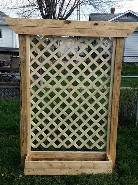 planter box with trellis 20 diy wooden planter boxes for your yard or patio