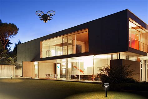 sunflower drone home security system hiconsumption