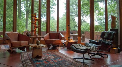 frank lloyd wright home decor warming up mid century modern with area rugs nw rugs