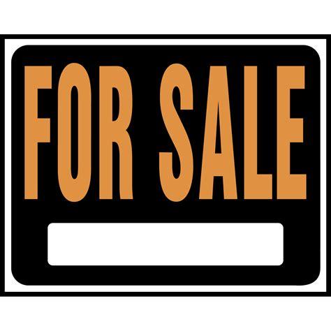 orange sales 15x19 inch black and orange for sale sign