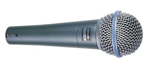 Kepala Microphone Model Beta 58 shure beta 58a dynamic supercardioid mic mcquade