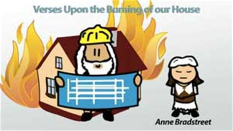 upon the burning of our house anne bradstreet poems and biography video lesson transcript study com
