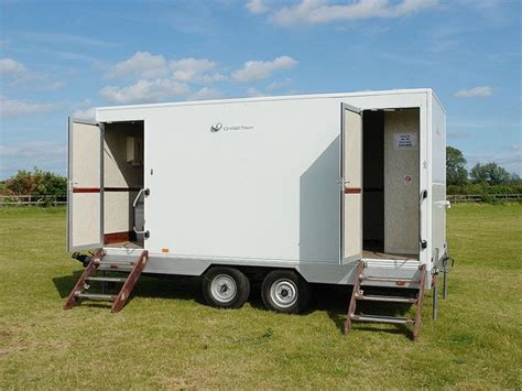 used bathroom trailer for sale secondhand toilet units 2 2 toilet trailers 2 2