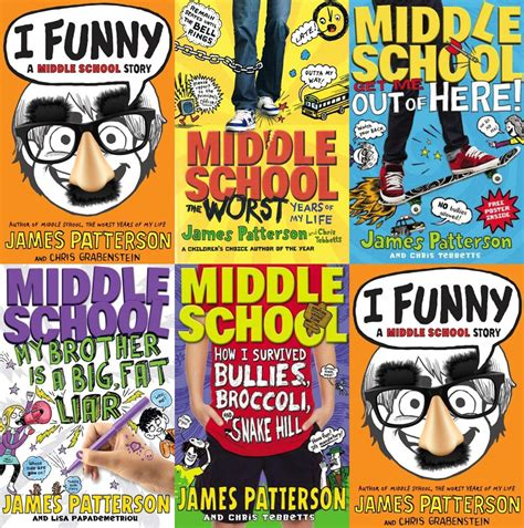 middle school picture books best book series for middle school boys