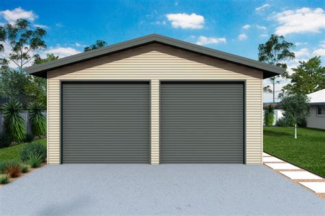 Garage And Sheds by Garages And Sheds With Eaves Ranbuild