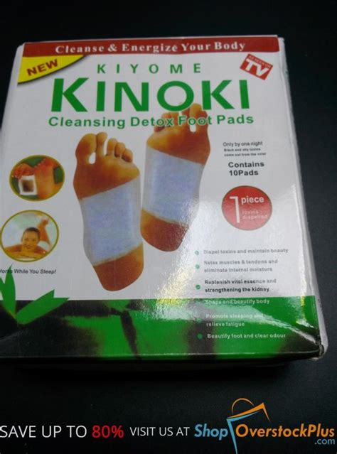 Manfaat Kiyome Kinoki Cleansing Detox Foot Pads by Kinoki Foot Pads For Sale Classifieds